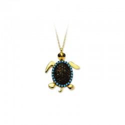 Altın Kaplumbağa Kolye